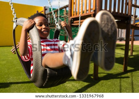 Front widoku uczeń uśmiechnięty kamery Zdjęcia stock © wavebreak_media