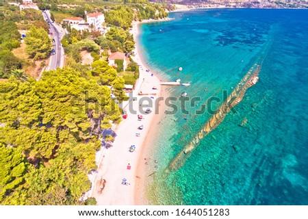 Península verano velocidad barco aéreo Foto stock © xbrchx