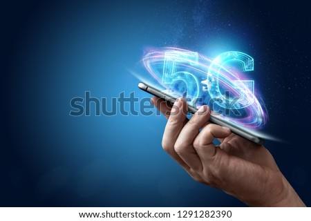 Mão sinalizar conexão acelerar vetor Foto stock © karetniy