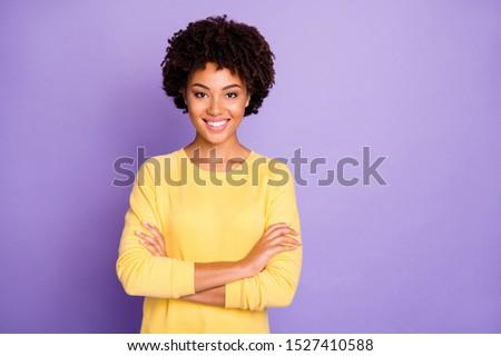 Belle jeunes africaine femme chandail Photo stock © deandrobot