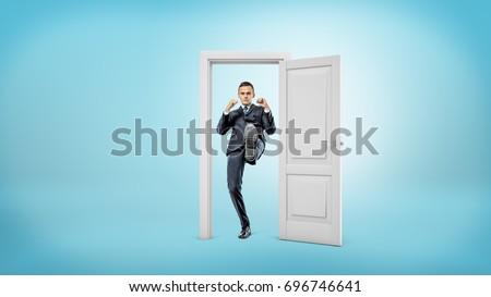 Get A Foot In The Door Stock photo © albund