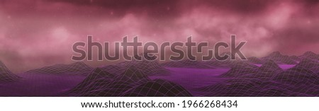 Data Abstract Lowpoly Cloud Header Stock photo © limbi007