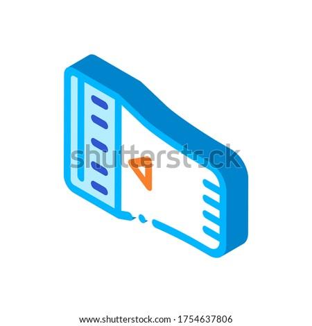 Stockfoto: Temperatuur · radiator · detail · isometrische · icon · vector