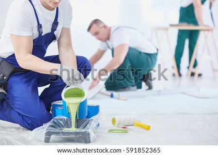 Painter and decorator Stock photo © photography33