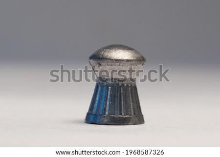 Сток-фото: полный · кадр · металл · чистой · макроса · оружием · выстрел