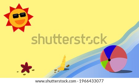 simples · sol · bola · laranja · céu · água - foto stock © jameswheeler