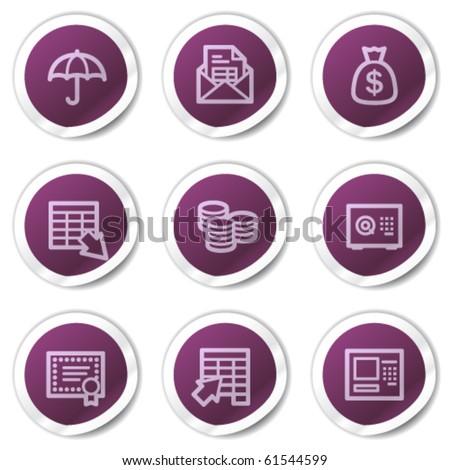 シールド · にログイン · 紫色 · ベクトル · アイコン · ボタン - ストックフォト © rizwanali3d