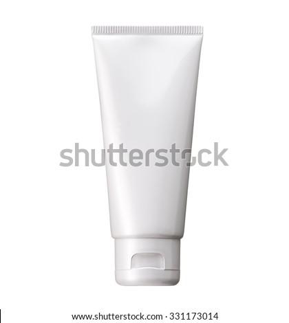 sampon · üveg · felfelé · vektor · sablon · műanyag - stock fotó © netkov1