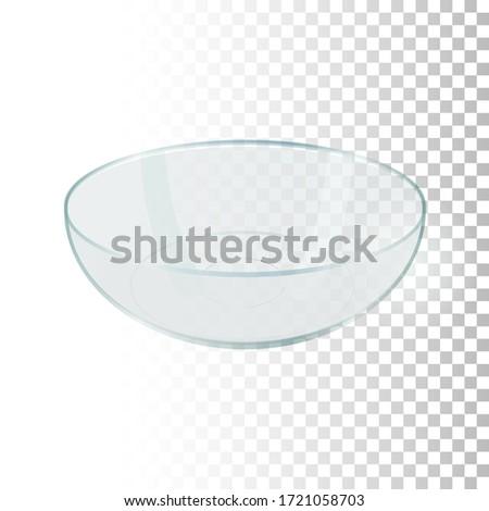 vazio · vidro · tigela · saladeira · branco · comida - foto stock © popaukropa