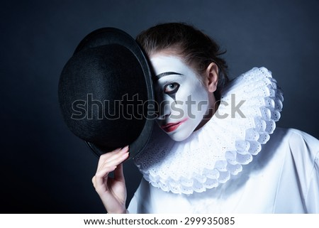 emotional makeup stock photo © fisher