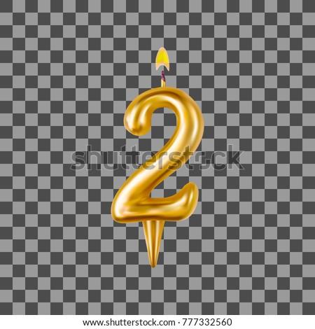 Aantal kaarsen verjaardag twee cijfer vakantie Stockfoto © MaryValery