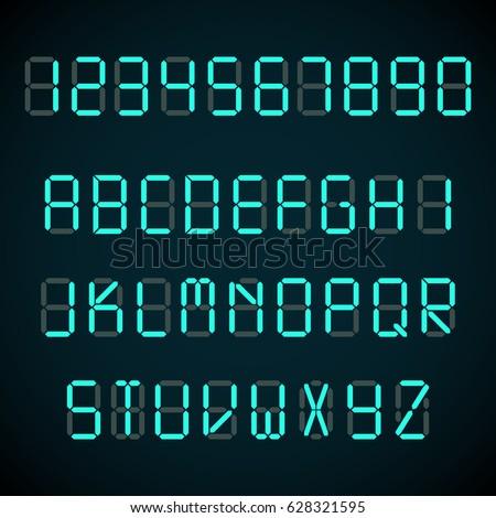 Cyfrowe litery metal nit tle przemysłowych Zdjęcia stock © vtorous