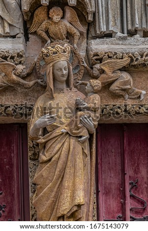 Amiens Cathedral, France Stock photo © borisb17