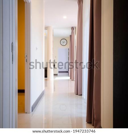 Ingresso porta vuota decorato soggiorno Foto d'archivio © wavebreak_media