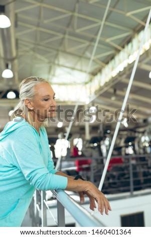 Yandan görünüş kıdemli kadın Stok fotoğraf © wavebreak_media