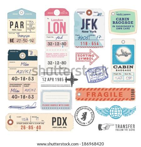 Камера аэропорту наклейку Label чемодан тег Сток-фото © gomixer