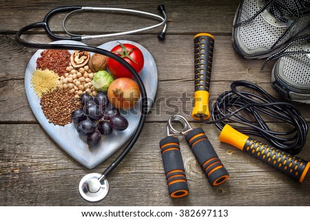 Sport And Nutrition Stock photo © Lightsource