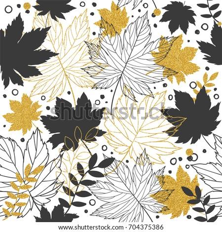autumn leaves and paper bag on white background Stock photo © dolgachov