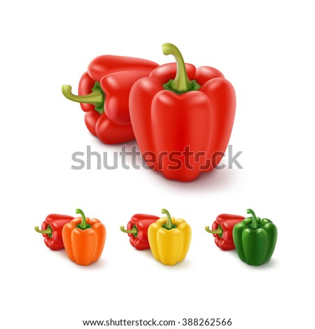 Yellow Capsicum annuum or Sweet Pepper or Bell Pepper or Capcicu Stock photo © sweetcrisis