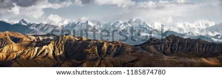 panorama from mountain Stock photo © mycola