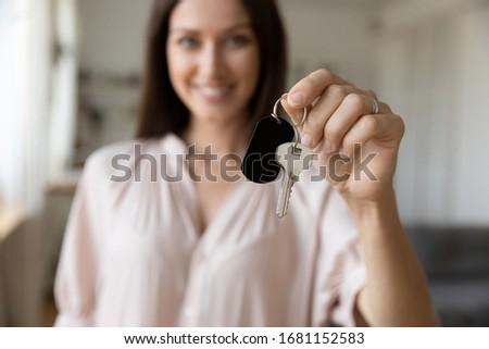 Positivo agente crédito corretor Foto stock © hasloo