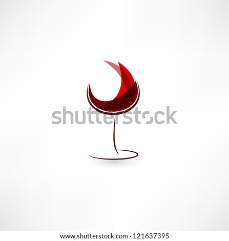wine glass full with grapes   Stock photo © natika