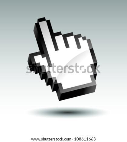 piksel · el · dünya · imzalamak · web - stok fotoğraf © tuulijumala