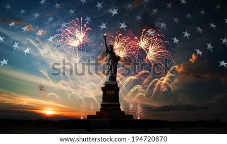 Dia Estados Unidos simples ícone vetor Foto stock © HelenStock