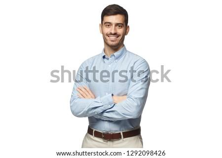 businessman on white Stock photo © zdenkam
