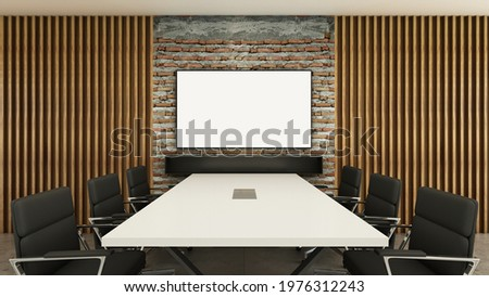 Welcome on Laptop in Modern Workplace Background. 3D Illustration. Stock photo © tashatuvango