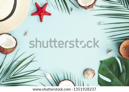 ананаса · деревянный · стол · тропические · лет · копия · пространства · текстуры - Сток-фото © artjazz