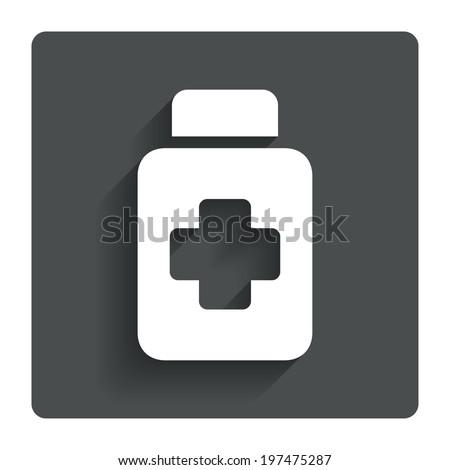 таблетки · бутылку · икона · современных · таблетки · капсулы - Сток-фото © kyryloff