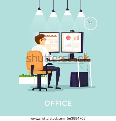 ludzi · biznesu · pracy · analiza · wykres · biurko · sala · konferencyjna - zdjęcia stock © snowing