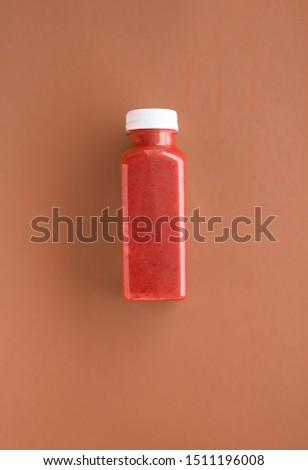 Detoxikáló smoothie csokoládé üveg fogyókúra diéta Stock fotó © Anneleven
