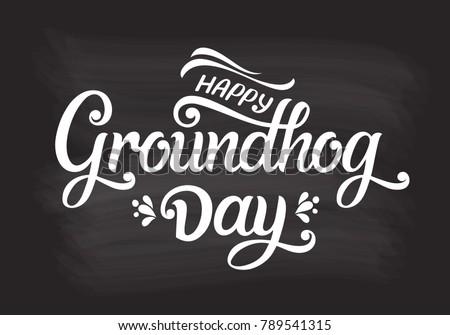 Szczęśliwy dzień kartkę z życzeniami szablon tekst cute Zdjęcia stock © orensila