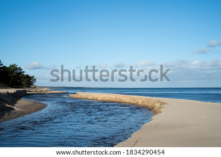 Ocean outflows Stock photo © lovleah