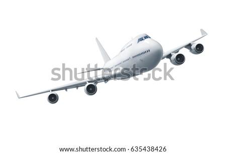 Vuelo avión blanco despegue tecnología espacio Foto stock © Zhukow