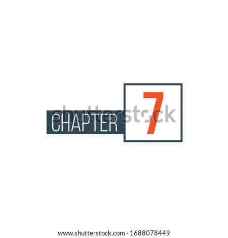 Chapter 2 design template, can be used for books design or tabs. Stock Vector illustration isolated  Stock photo © kyryloff