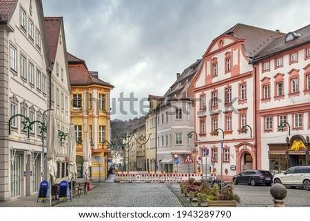 Street in Eichstatt, Germany Stock photo © borisb17