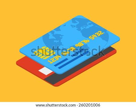 Transakcja ceny karty izometryczny ikona wektora Zdjęcia stock © pikepicture