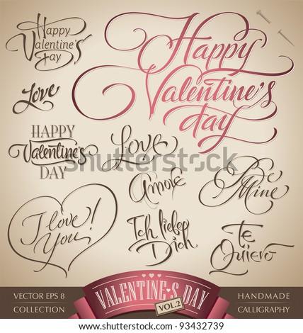 Valentijnsdag hand ingesteld collectie liefde Stockfoto © bharat