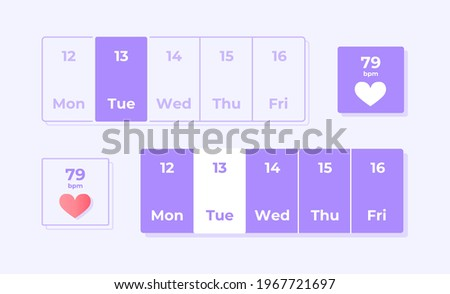 Egészség készlet lila vektor ikon gomb internet Stock fotó © rizwanali3d
