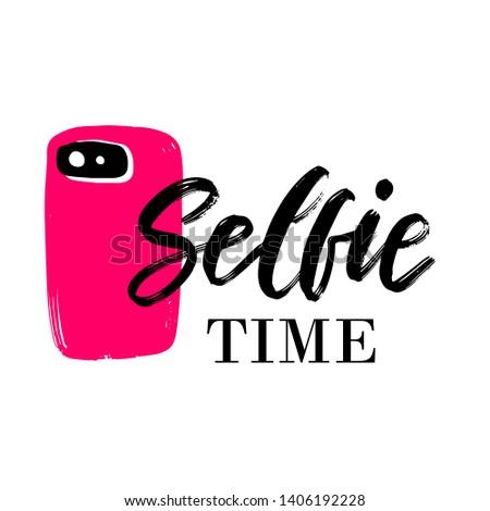 Selfie Time Stock fotó © mcherevan