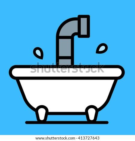 Cartoon ванна воды дети Сток-фото © adrian_n