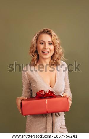 молодые блондинка девушки красный короткий платье Сток-фото © Elnur