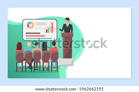 Whiteboard with Information, Visualized Data Set Foto stock © robuart