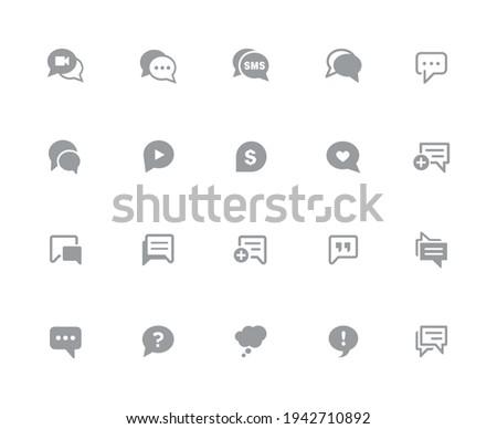 bubble · iconen · witte · vector · werk - stockfoto © Palsur