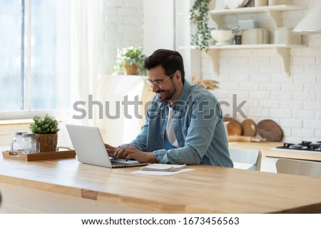 Online banking service concept, check from laptop screen, internet payment Stock photo © MarySan
