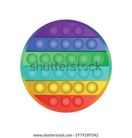 Rainbow ball popper Stock photo © Zela