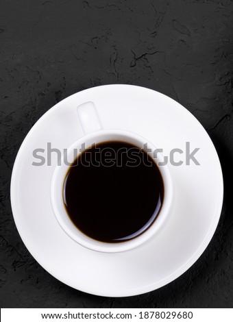Reggel kávéscsésze tej márvány kő forró ital Stock fotó © Anneleven